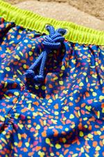 Focus maillot de bain garçon à ceinture élastique Meno graffiti