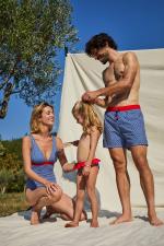 Maillot de bain pour homme à ceinture élastique Navy Kangaroos