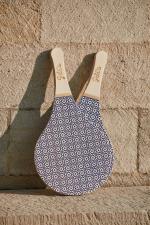 Beach rackets Azulejos print