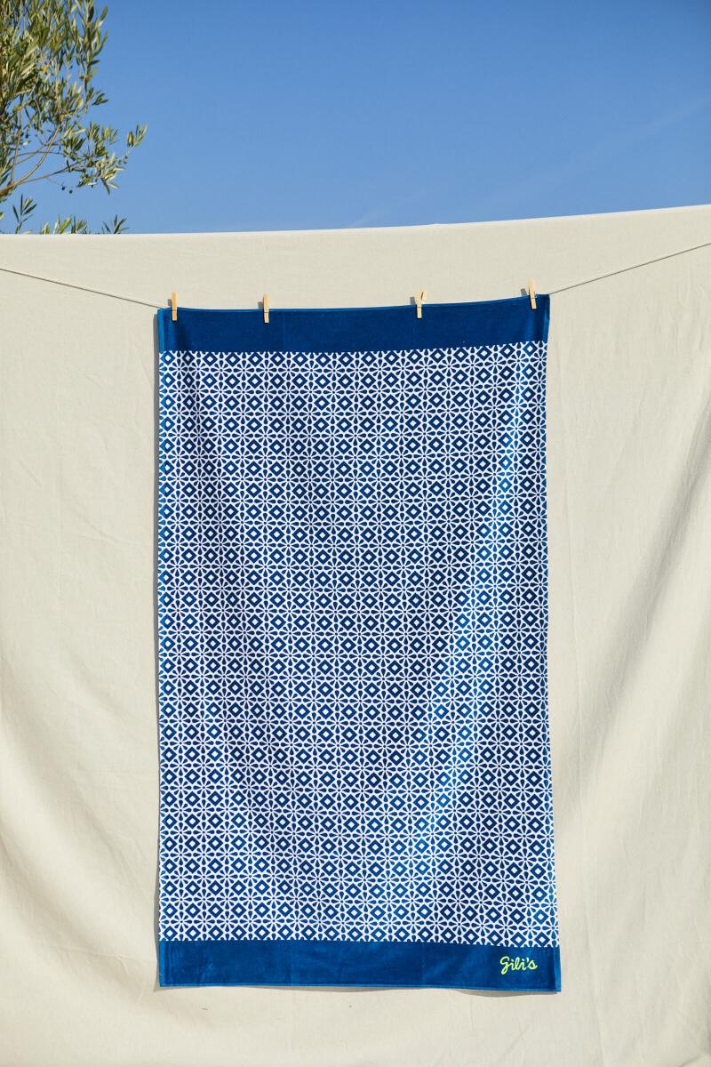 Serviette de plage Azulejos