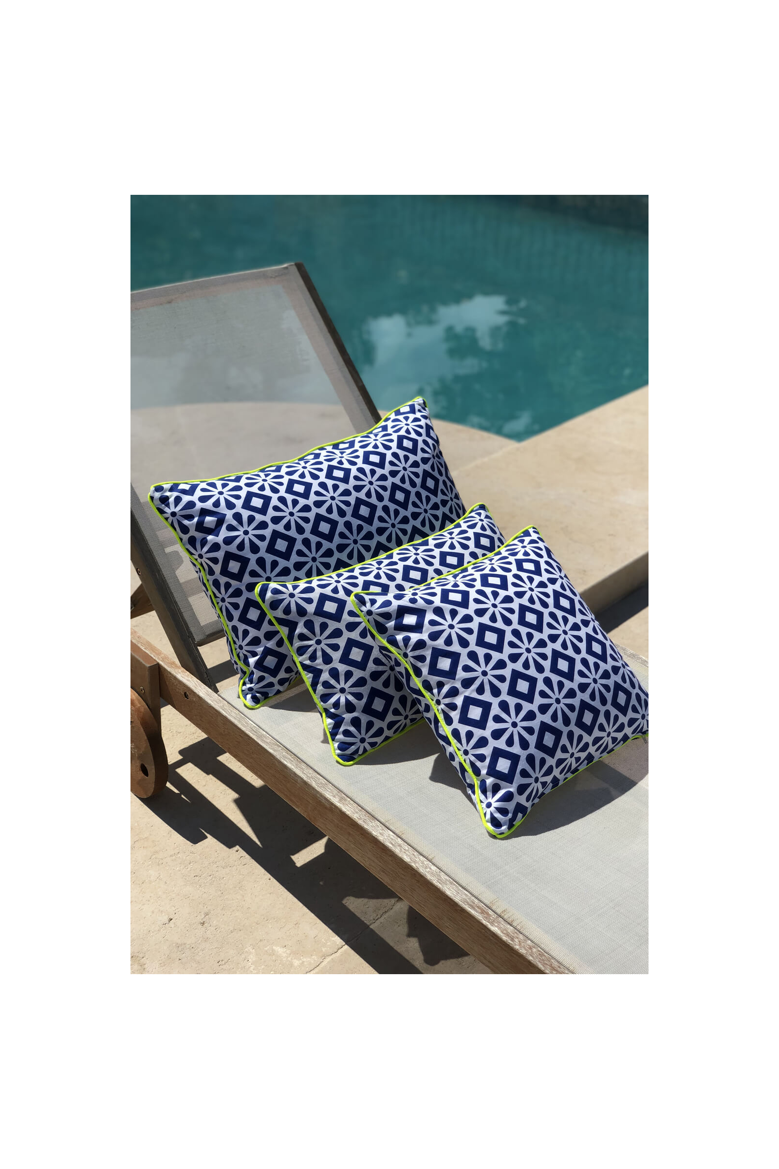 Cushion covers Azulejos
